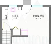 Bradford Townhouse Floor Plans